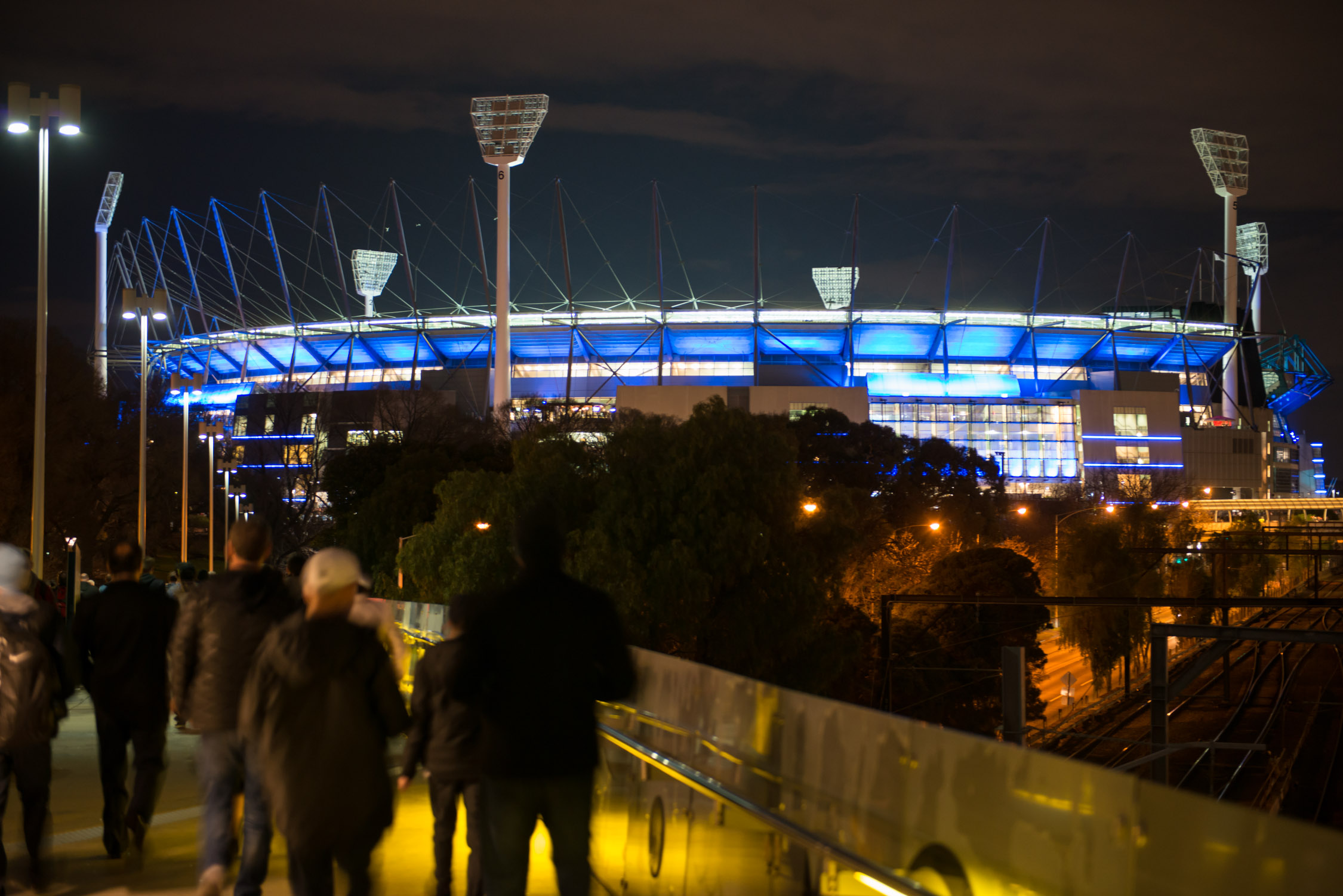 Getting to the MCG