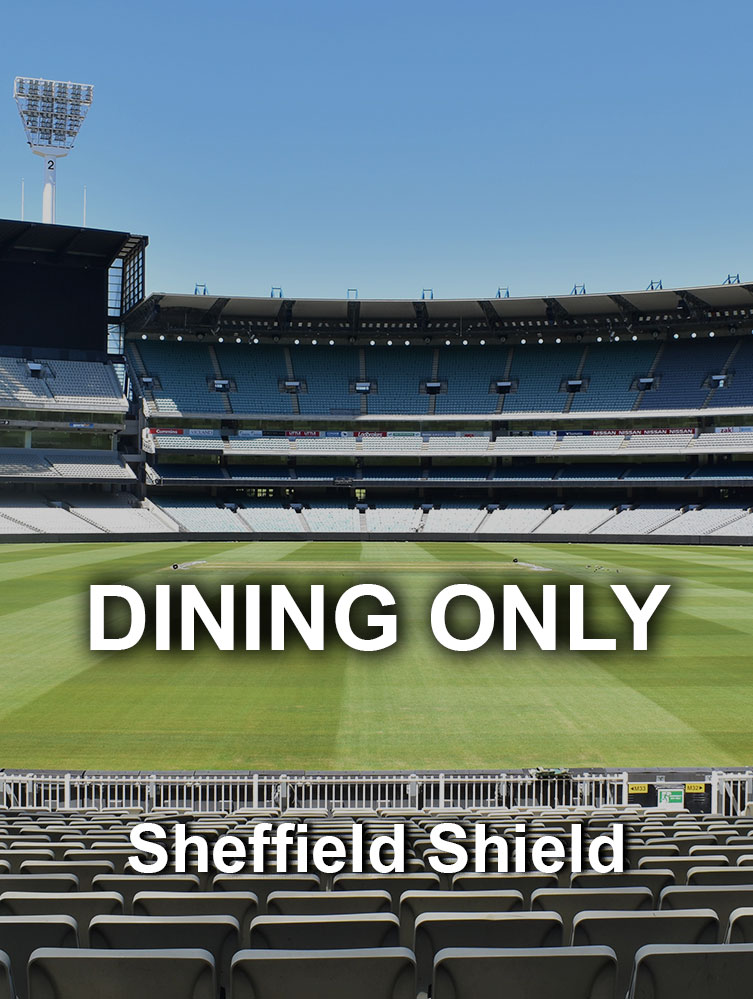 Sheffield Shield Closed to Public